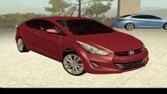 Hyundai Elantra 2013 para GTA San Andreas