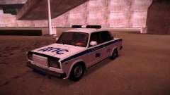 Polícia Vaz 2107 DPS