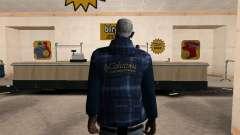 A nova jaqueta CJ