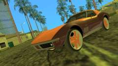 Chevrolet Corvette C3 Tuning para GTA Vice City
