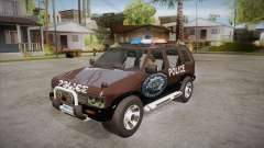 Nissan Terrano RB26DETT Police