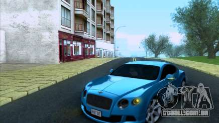 Bentley Continental GT Final 2011 para GTA San Andreas