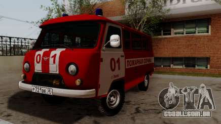 UAZ 452 Fire Staff Penza Russia para GTA San Andreas