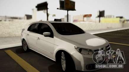 Volkswagen Voyage Taxi para GTA San Andreas