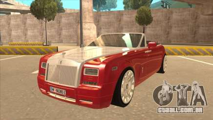 Rolls Royce Phantom Drophead Coupe 2013 para GTA San Andreas