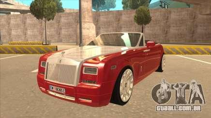 Rolls Royce Phantom Drophead Coupe 2013 para GTA San Andreas