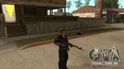 AKMS com baioneta-faca para GTA San Andreas