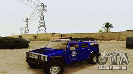 THW Hummer H2 para GTA San Andreas