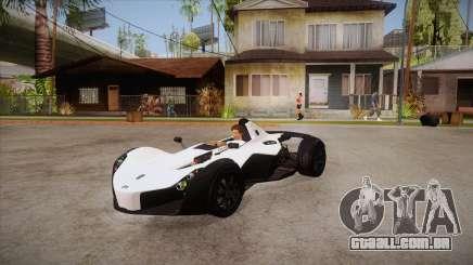 BAC Mono 2011 para GTA San Andreas