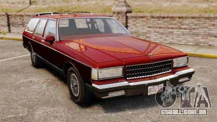Chevrolet Caprice Wagon 1989 para GTA 4