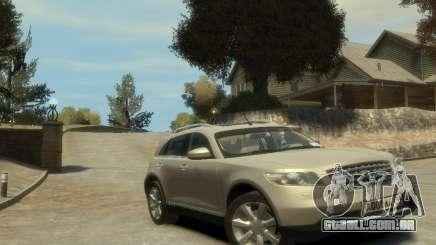 Infiniti FX45 2008 para GTA 4