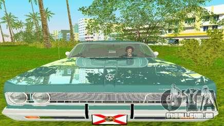 Plymouth Fury III 1969 Coupe para GTA Vice City