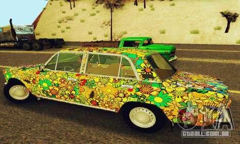 VAZ 21011 Hippie para GTA San Andreas vista traseira
