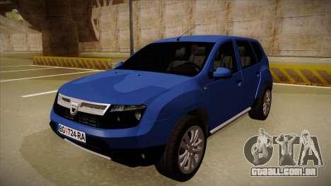 Dacia Duster SUV 4x4 para GTA San Andreas