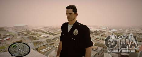 Los Angeles Police Officer para GTA San Andreas terceira tela