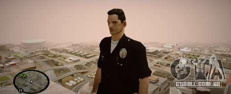 Los Angeles Police Officer para GTA San Andreas terceira tela