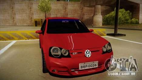 VW Golf GTI 2008 para GTA San Andreas esquerda vista
