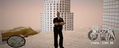 Los Angeles Police Officer para GTA San Andreas quinto tela