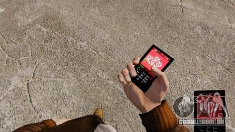 Temas para barras de chocolate de telefone para GTA 4