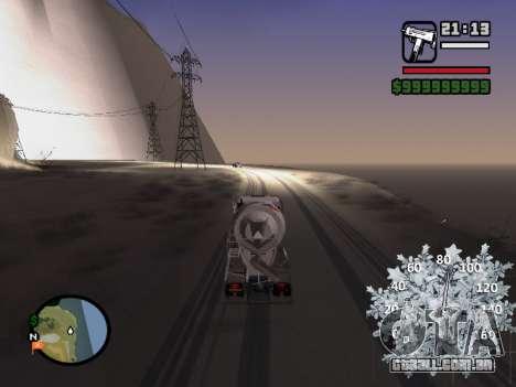 Velocímetro novo para GTA San Andreas terceira tela