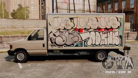 Grafite novo para corcel para GTA 4 vista direita