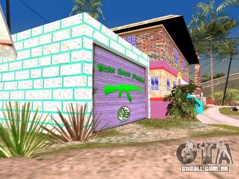 Textura de Karl House para GTA San Andreas quinto tela