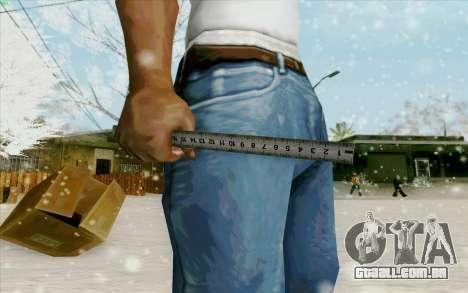 Régua de aço para GTA San Andreas