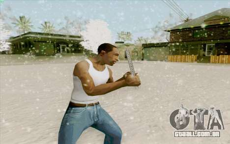 Régua de aço para GTA San Andreas segunda tela