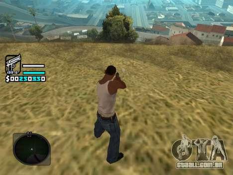 Hud by Larry para GTA San Andreas terceira tela