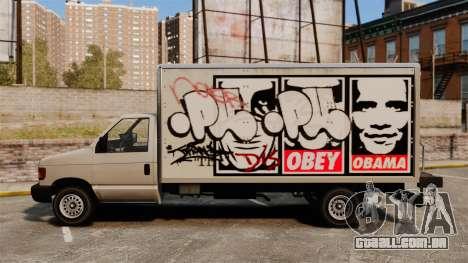 Grafite novo para corcel para GTA 4 traseira esquerda vista