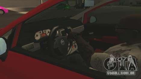 Fiat Grande Punto para as rodas de GTA San Andreas