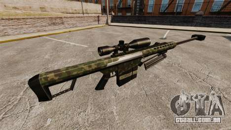 O Barrett M82 sniper rifle v7 para GTA 4 segundo screenshot