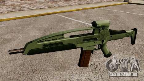 V1 de rifle de assalto HK XM8 para GTA 4 terceira tela