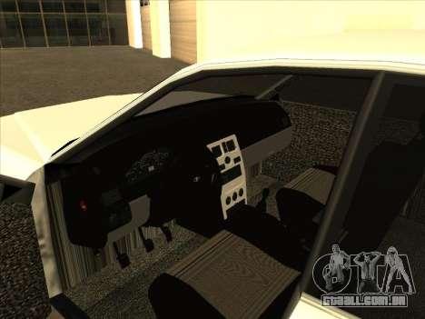 New Merit para GTA San Andreas vista traseira