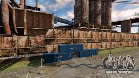 Uma base defensiva para GTA 4 por diante tela