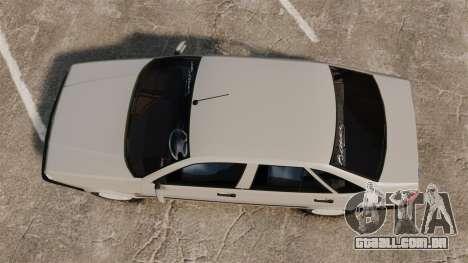 Fiat Tempra SX.A para GTA 4 vista direita