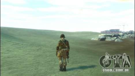Um soldado russo v 2.0 para GTA 4 terceira tela