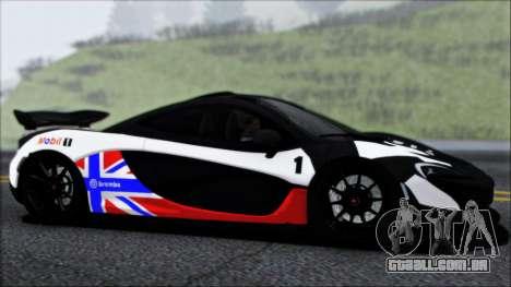 McLaren P1 2014 para o motor de GTA San Andreas