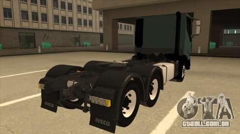 Iveco Hi-Land para GTA San Andreas vista direita