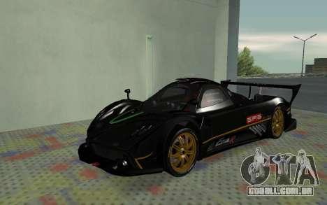 Pagani Zonda R SPS para GTA San Andreas