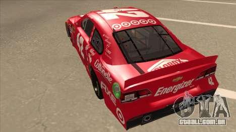 Chevrolet SS NASCAR No. 42 Clorox para GTA San Andreas vista traseira