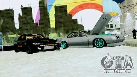 Buffalo Drift para GTA San Andreas esquerda vista