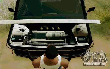 Gang Burrito para GTA San Andreas vista traseira