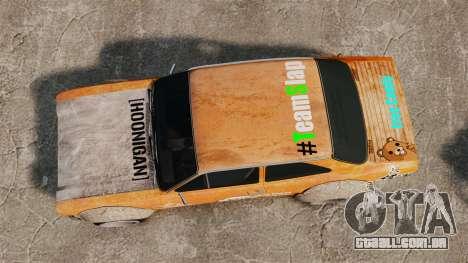 Ford Escort Mk1 Rust Rod para GTA 4 vista direita