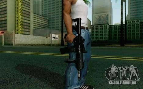 MK107 PDW para GTA San Andreas terceira tela