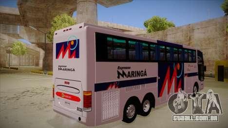 Busscar Jum Buss 400 P Volvo para GTA San Andreas vista direita