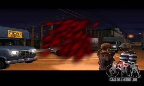 DeadPool Mod para GTA San Andreas por diante tela