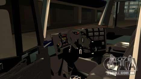 Iveco Hi-Land para GTA San Andreas vista traseira