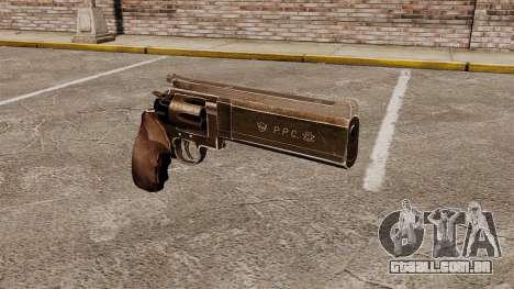 Revólver Dan Wesson 357 PPC para GTA 4