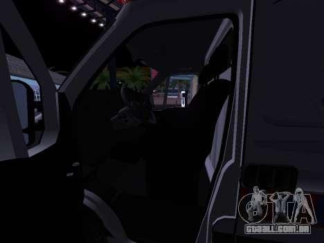 Renault Master ambulância sérvio para vista lateral GTA San Andreas